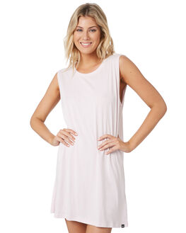 LIGHT PURPLE WOMENS CLOTHING RIP CURL DRESSES - GDRHT10773