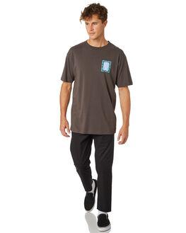 CHARCOAL MENS CLOTHING THE LOBSTER SHANTY TEES - LBS-TIKI-CHAR