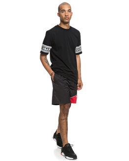 BLACK MENS CLOTHING DC SHOES SHORTS - EDYWS03116KVJ0