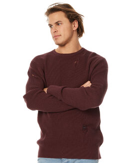 BLACKBERRY MENS CLOTHING ZANEROBE KNITS + CARDIGANS - 414-RISEBBRY