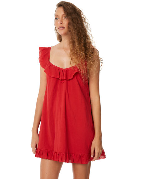 RED WOMENS CLOTHING RUE STIIC DRESSES - SW18-02RDRED