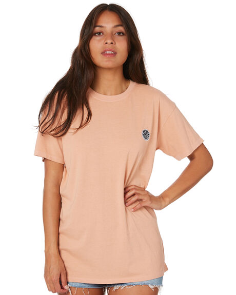 CLAY WOMENS CLOTHING RIP CURL TEES - GTELB90136