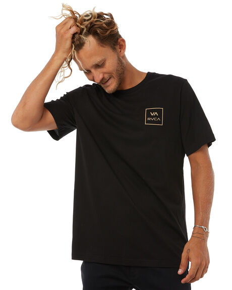 GOLD MENS CLOTHING RVCA TEES - R172062GOLD