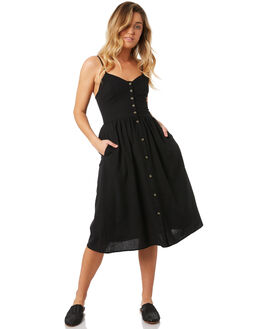 BLACK WOMENS CLOTHING ROLLAS DRESSES - 12812-100