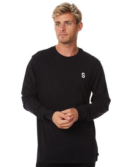 BLACK MENS CLOTHING SWELL TEES - S5184100BLACK