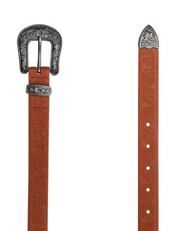 TAN WOMENS ACCESSORIES RUSTY BELTS - BEL0400TAN