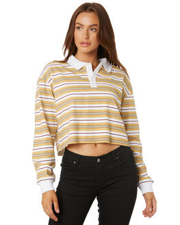 OCHRE WOMENS CLOTHING RUSTY TEES - TTL1079OCH