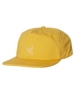 MUSTARD MENS ACCESSORIES THE CRITICAL SLIDE SOCIETY HEADWEAR - SWA1604MSTD