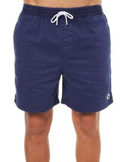 DARK NAVY MENS CLOTHING STUSSY BOARDSHORTS - ST072616DNVY