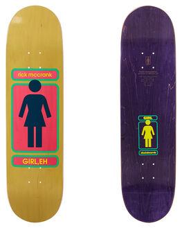 MULTI BOARDSPORTS SKATE GIRL DECKS - GB3805MULTI
