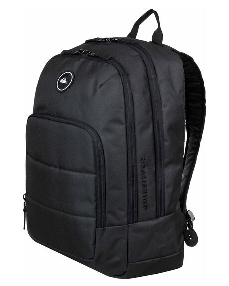 BLACK MENS ACCESSORIES QUIKSILVER BAGS + BACKPACKS - EQYBP03497KVJ0