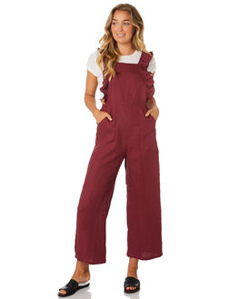 MULBERRY WOMENS CLOTHING LILYA PLAYSUITS + OVERALLS - LJS18-LAW18MUL