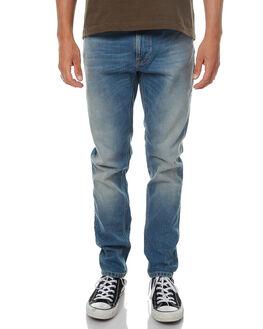 REBEL BLUES MENS CLOTHING NUDIE JEANS CO JEANS - 112502REBBL