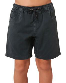 CHARCOAL KIDS BOYS SWELL SHORTS - S3161237CHARC