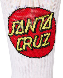 WHITE MENS CLOTHING SANTA CRUZ SOCKS + UNDERWEAR - SC-MZNC099WHI