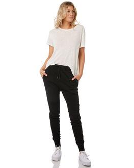 BLACK WOMENS CLOTHING RUSTY PANTS - PAL1112BLK