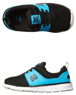 BLACK BLUE KIDS TODDLER BOYS DC SHOES FOOTWEAR - ADTS700041BKB
