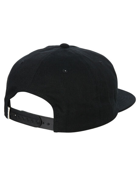 BLACK MENS ACCESSORIES STACEY HEADWEAR - STHEEAGBLK