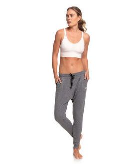 CHARCOAL HEATHER WOMENS CLOTHING ROXY PANTS - ERJNP03278-KTAH