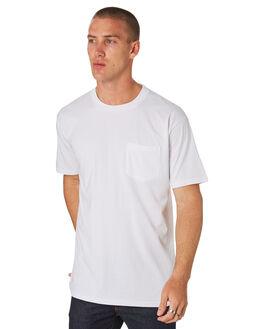 WHITE MENS CLOTHING AS COLOUR TEES - 5027WHITE