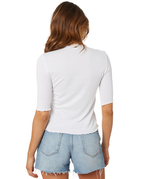 WHITE WOMENS CLOTHING O'NEILL TEES - SP0403008WHT