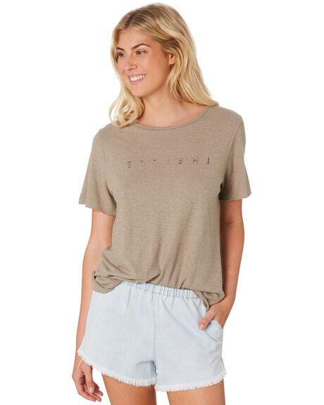 STONE WOMENS CLOTHING THRILLS TEES - WTS8-105CSTO