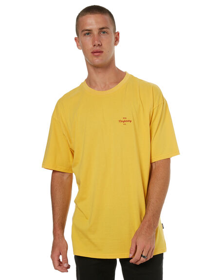 YELLOW MENS CLOTHING RPM TEES - 7HMT02CYLLW