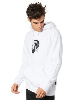 WHITE MENS CLOTHING HUF JUMPERS - PF00214-WHITE