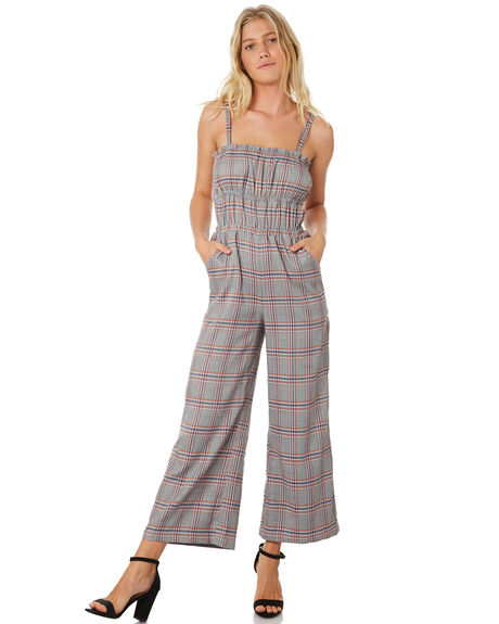 MULTI OUTLET WOMENS TWIIN PLAYSUITS + OVERALLS - IE19S1455MUL