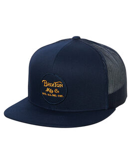 PATRIOT BLUE MENS ACCESSORIES BRIXTON HEADWEAR - 00014PATBL