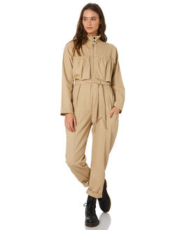 NEUTRAL WOMENS CLOTHING TWIIN PLAYSUITS + OVERALLS - IE19S1451NETRL