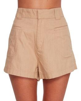 LATTE WOMENS CLOTHING BILLABONG SHORTS - BB-6591274-L09