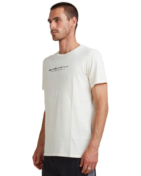WHITE ALYSSUM MENS CLOTHING QUIKSILVER TEES - UQYZT04343-WZB0