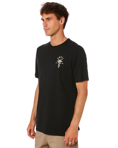 BLACK MENS CLOTHING SWELL TEES - S5212001BLACK