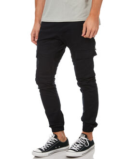 BLACK MENS CLOTHING ZANEROBE PANTS - 700-WANIBLK