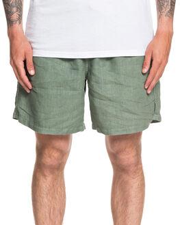 AGAVE GREEN MENS CLOTHING QUIKSILVER SHORTS - EQYWS03609-GZC0