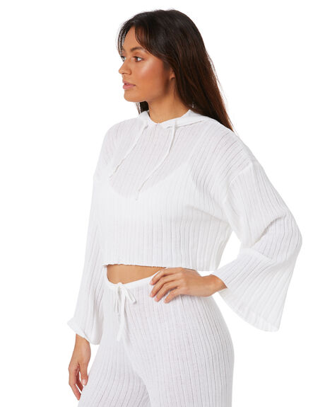 WHITE WOMENS CLOTHING SNDYS JUMPERS - SFK028WHT