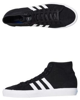 BLACK WHITE MENS FOOTWEAR ADIDAS ORIGINALS SNEAKERS - B22786BLK