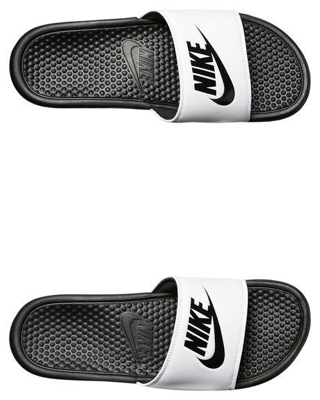 052d6f8ab WHITE BLACK WOMENS FOOTWEAR NIKE SLIDES - SS343880-100W