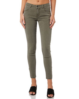 RIFLE GREEN WOMENS CLOTHING RUSTY JEANS - PAL1099RFG
