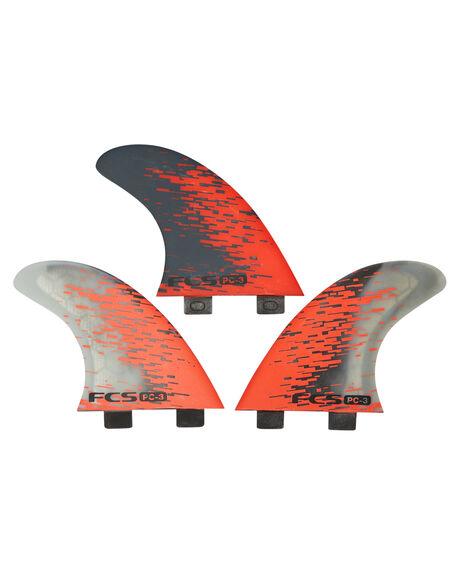 RED SMOKE BOARDSPORTS SURF FCS FINS - PC03-143-00-RREDSM