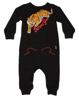 BLACK KIDS BABY ROCK YOUR BABY CLOTHING - BBB1963-SYBLK