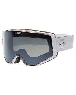 GREEN SILVER SPEC BOARDSPORTS SNOW SPY GOGGLES - 310071534437GRN