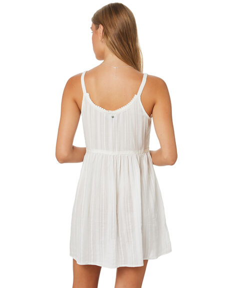 WHITE WOMENS CLOTHING RUSTY DRESSES - DRL1062WHT