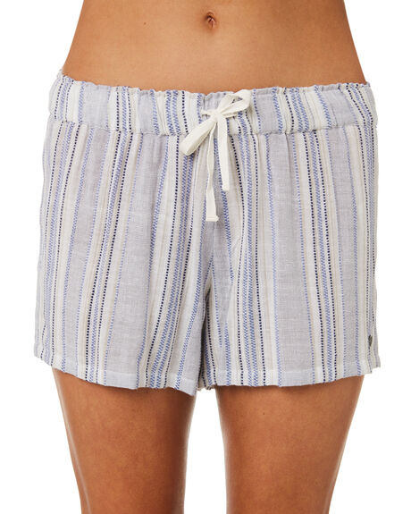 BLUE WOMENS CLOTHING RIP CURL SHORTS - GWAED10070