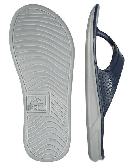 NAVY GREY MENS FOOTWEAR REEF THONGS - A3ONCNAG