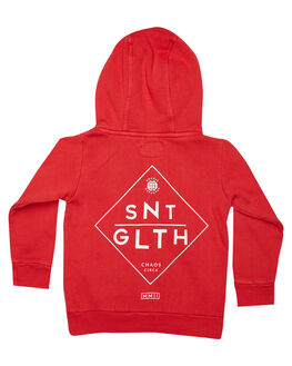 RED KIDS BOYS ST GOLIATH JUMPERS + JACKETS - 2814029RED