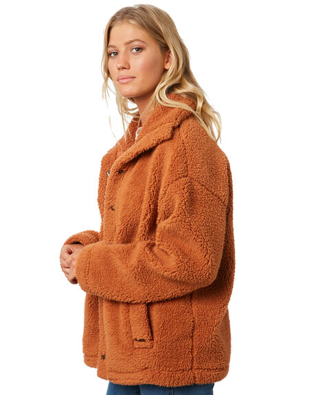 TOFFEE OUTLET WOMENS BILLABONG JACKETS - 6595736T22
