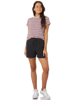 BLACK WOMENS CLOTHING SILENT THEORY SHORTS - 6022011BLK