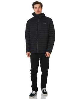 TNF MATTE BLACK MENS CLOTHING THE NORTH FACE JACKETS - NF0A3KTUXYM